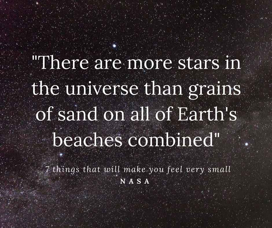 More stars than sand