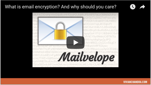 Quick guide PGP email encryption video